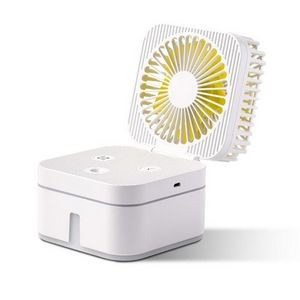 Mini USB Desk Fan with Humidifier